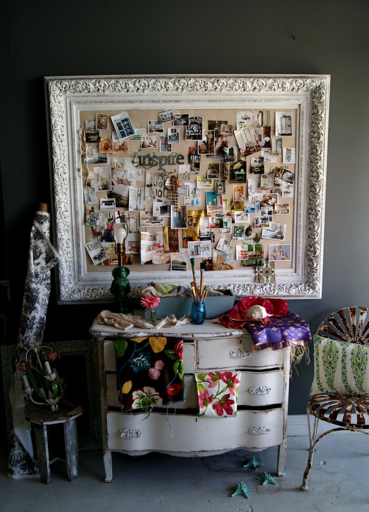 """Inspiration board @ Chartreuse with items we have """"in house""""!  One of my favorite places to shop for House stuff!!!"""