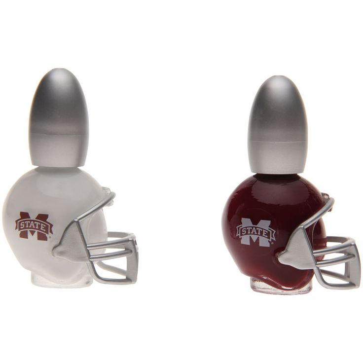 Mississippi State Bulldogs Game Day Duo Nail Polish