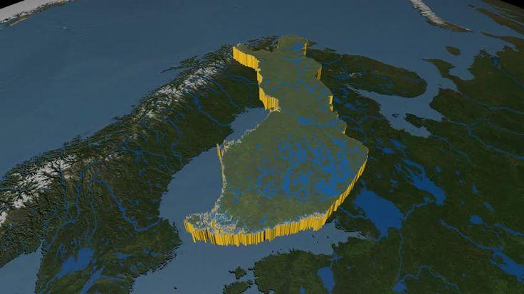 Finland Map Stock Footage Video - Shutterstock