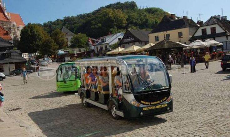 Zwiedzaj Kazimierz Zielonymi Pojazdami - zwiedzanie kazimierza dolnego