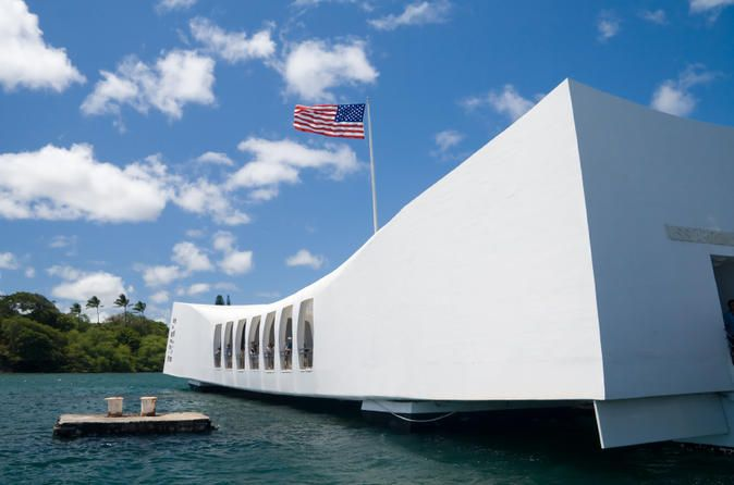 Pearl Harbor Tour From Honolulu Port A very fast, easy and hassle-free Pearl Harbor visit. No waiting in line, pick up from Honolulu Port directly to Pearl Harbor. We will provide complimentary cold drink, transfer with the clean, nice and fully insured vehicle by professional chauffeur. USS Arizona Memorial ticket is included in this package for clients.You will be picked up by our chauffeured style vehicle and taken to Pearl Harbor where you are offered a cold drink of wate...