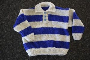 Rugby Jersey - for the wee man in your life.