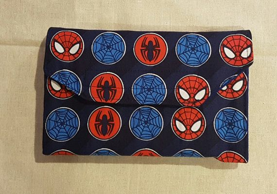 Hey, I found this really awesome Etsy listing at https://www.etsy.com/au/listing/477388443/spiderman-notebook-wallets