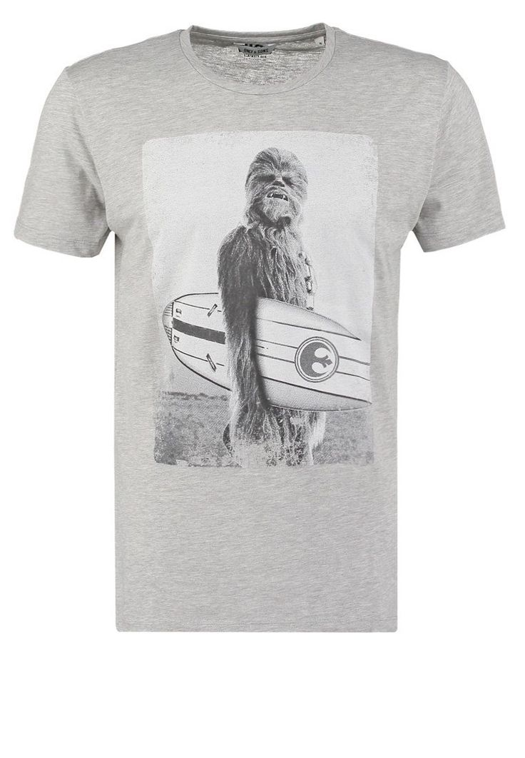 Only & Sons ONSSTAR WARS - Camiseta print - light grey melange - Zalando.es