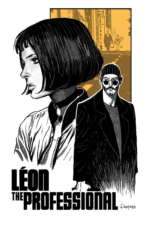 Leon The Professional Poster By Dan Mora Leon O Profissional Por Dan Mora Https Www Deviant Movie Posters Alternative Movie Posters Movie Poster Art