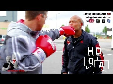 This Wing Chun Master Is Angrily Teaching How To Counter Boxers In A Street Confrontation! | The Awesomester