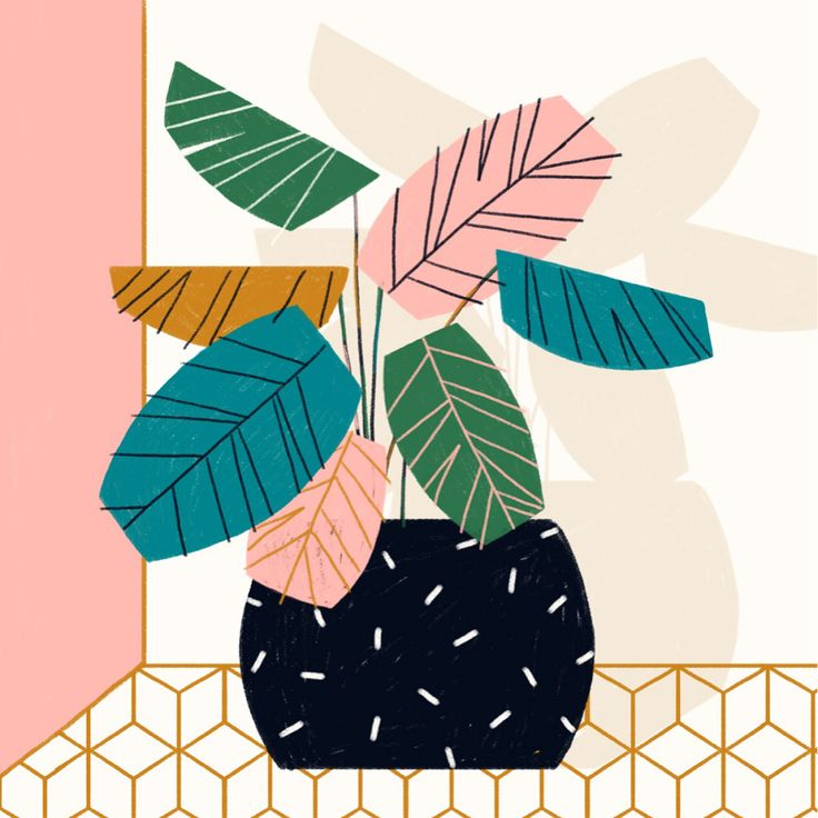 "1,059 Likes, 15 Comments - Abbey Lossing (@abbey_lossing) on Instagram: ""x 3 #illustration #plants"""