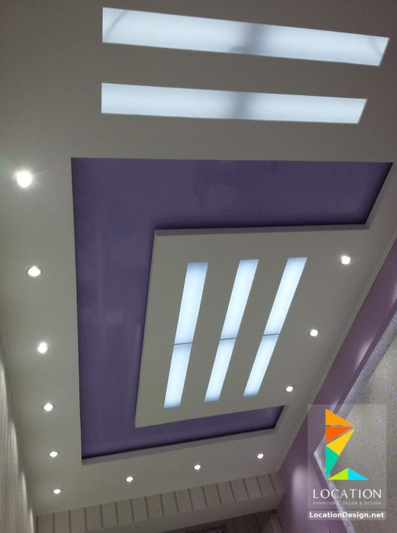 ديكورات جبس اسقف راقيه 2018 تصميمات جبسيه للشقق المودرن لوكشين ديزين نت Ceiling Design False Ceiling Design Pop Ceiling Design