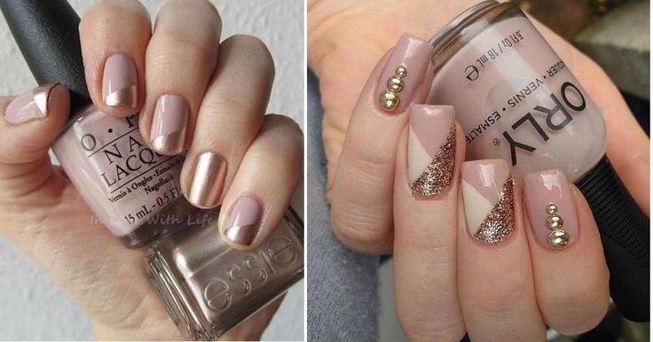 El nude, un color muy elegante para tus uñas en días especiales
