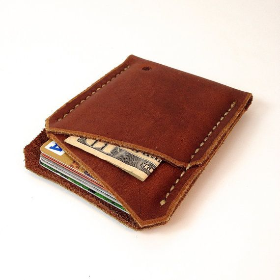 Minimalist wallet, Mens wallet, Front pocket wallet, Minimal wallet, Leather…