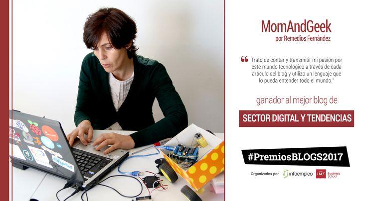 Conoce más sobre MomAndGeek, el blog ganador de la categoría de sector digital y tendencias de los#PremiosBlogs2017 organizados por IMF e Infoempleo.