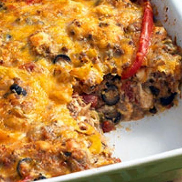 Beef Nacho Casserole II Recipe | Favorite Recipes | Pinterest