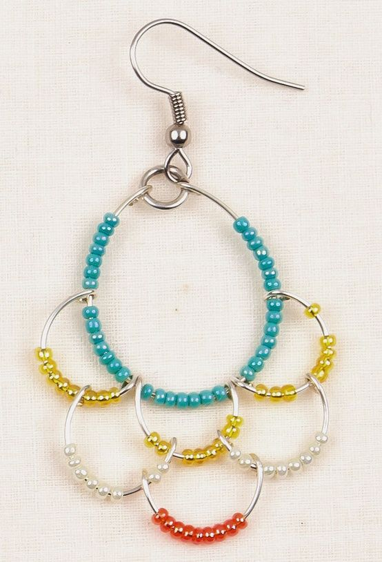 105 best hoops images on Pinterest | Jewelry ideas, Ear studs and ...