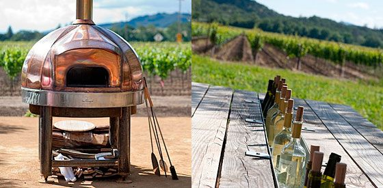 picture on the right -awesome! Just take out the middle board on a picnic table and put in a metal trough/planter box and put ice in it for a built in cooler for your drinks!