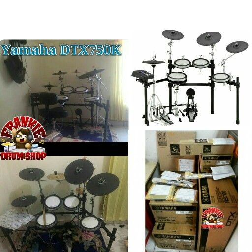 Yamaha DTX750K one of most versatille drumset