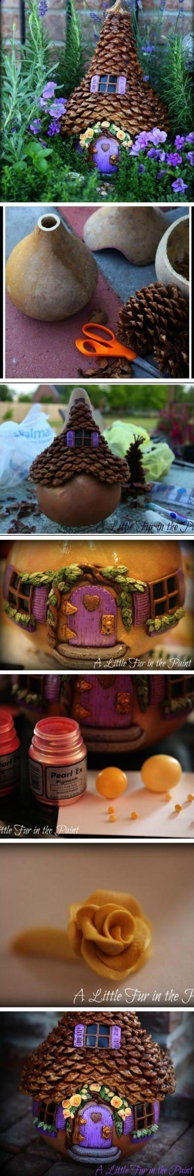 77 best Fairy Houses images on Pinterest   Fairies garden, Fairy ...