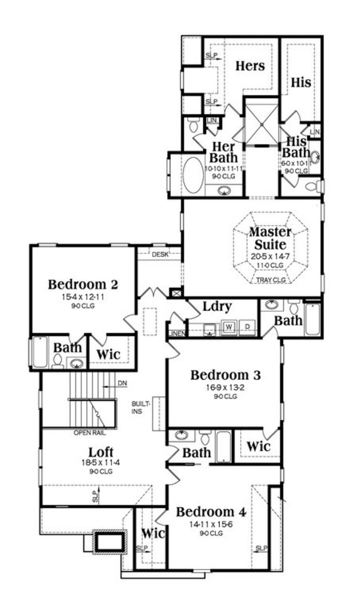 41 best house plans images on pinterest dream house plans home