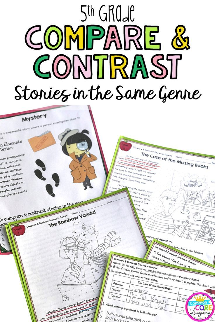 Are You Looking For Close Reading Passages And Stories To Teach Your 5th Graders How To Compare In 2020 Compare Contrast Stories Compare And Contrast Reading Workshop