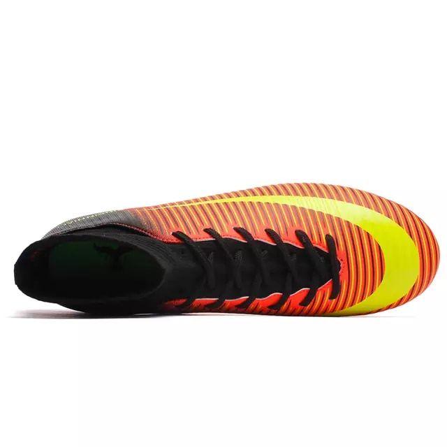 0fce7466d15 ZHENZU Outdoor Men Soccer Shoes Kids Boys Cleats Football Boots Long Spikes  Sport Sneakers Size 35-44 scarpe da calcio