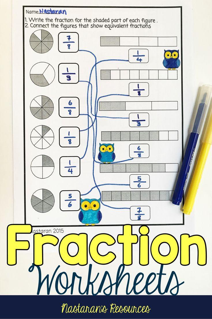 Best 25 Equivalent Fractions Ideas On Pinterest
