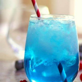 Sex in the Driveway : A Bright Blue Cocktail with a Blush Inducing Name – Restless Chipotle