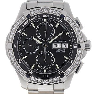 TAG Heuer Aquaracer Automatic Chronograph Stainless Steel Watch - http://menswomenswatches.com/tag-heuer-aquaracer-automatic-chronograph-stainless-steel-watch/ COMMENT.