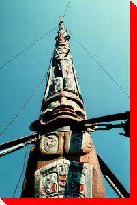 World's Tallest Totem Pole - Alert Bay, British Columbia