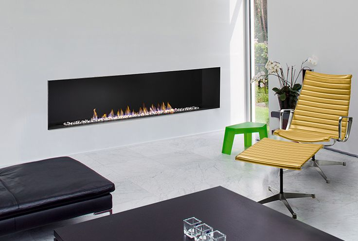 The H Series (Single-Sided) vent-free series of gas fireplaces feature a contemporary trimless open-front style. MADE IN THE USA!