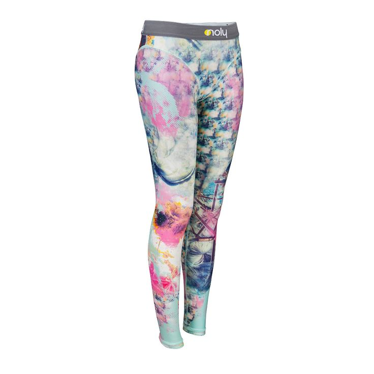 Women's fitness and yoga leggings. Great for active gym workouts or aerobic sessions. Romance sport and fashion - Sunflower Morning