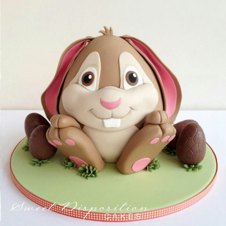 Bunny cake. Probably one of the cutest cakes I've ever seen!!