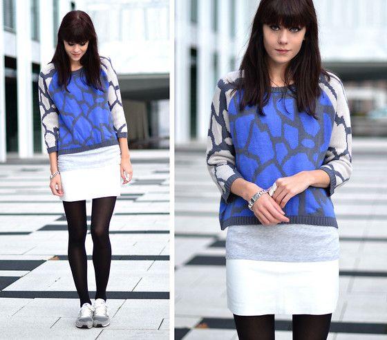 Color me blue (by Lucy De B.) http://lookbook.nu/look/4212185-Color-me-blue