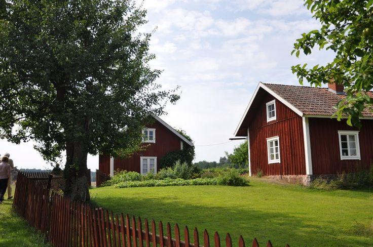 Old farm, Långmaren from 1914