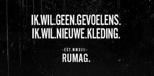 Het Amsterdamse lifestylemerk Rumag verzamelde binnen anderhalf jaar via verschillende social media ruim anderhalf miljoen volgers met zijn pittige quotes.