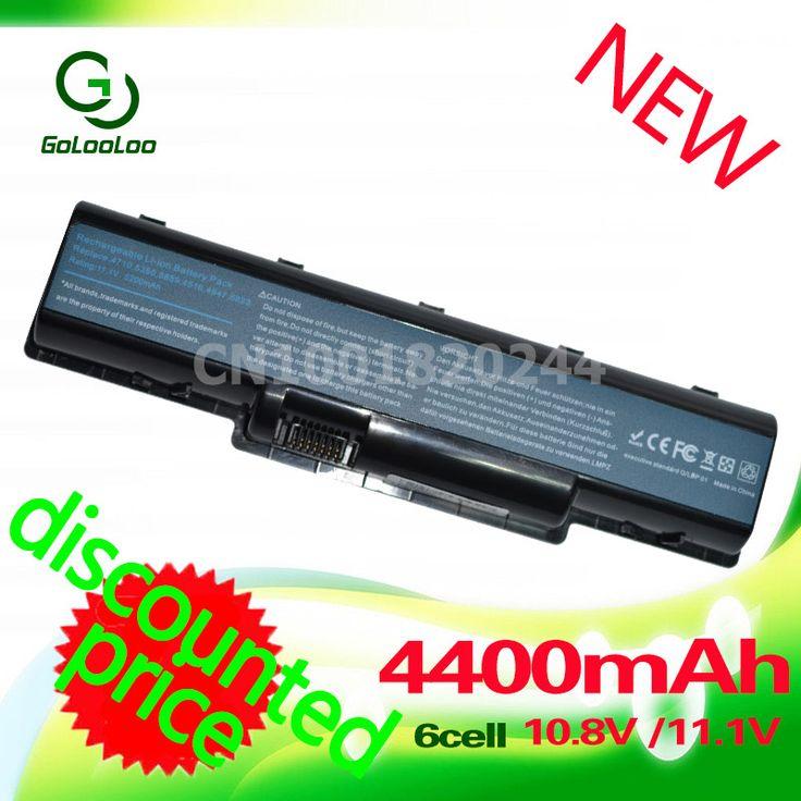 Golooloo 4400mAh Battery For Acer Aspire 4937 4937G 5235 5236 5241 5334 5335 5335Z 5338 5535 5536 5536G 5541 5541G 5732Z 4710 #Affiliate