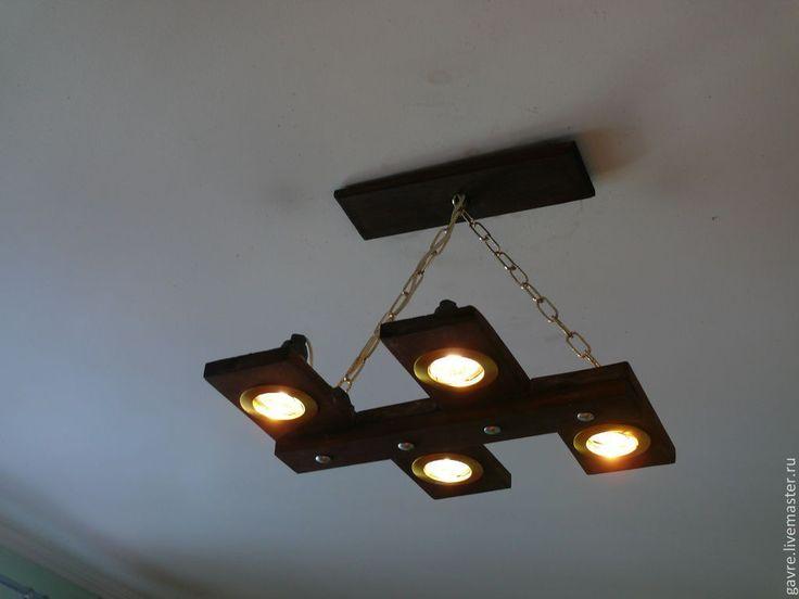 Купить Люстра деревянная - люстра, люстра деревянная, светильник потолочный, светильник, деревянный, светильники из дерева