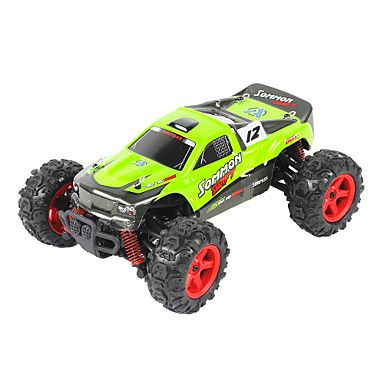 Buggy FQ777 9012 1:24 Brush Electric RC Car 45KM/H 2.4G Green / Orange Ready-To-GoRemote Control Car / Remote Controller/Transmitter / #offroad #hobbies #design #racing #drift #motors #trucks #tech #rc #rccars