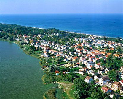 Baltic Sea coastline; Szczecin, Poland