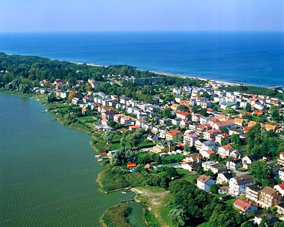 Baltic Sea coastline; Szczecin, Poland