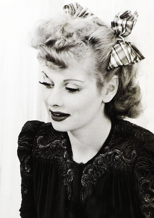 Lucille Ball entertained decades of Americans - a TV celebrity in with the sitcom: I love Lucy and the we did.