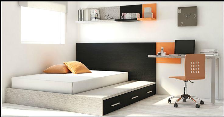 Dormitorios juveniles catalogo Muebles La Fabrica 2013. 1