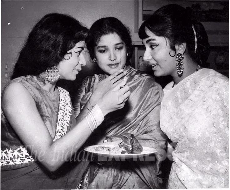Nanda , Shoba Khote and Sadhna
