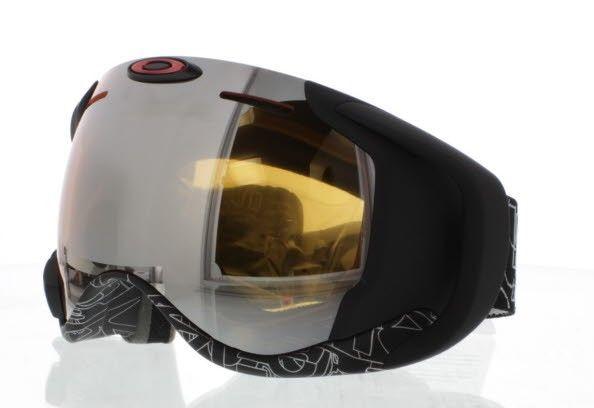 Oakley AIRWAVE OO7049 Noir 59-448 masque de ski