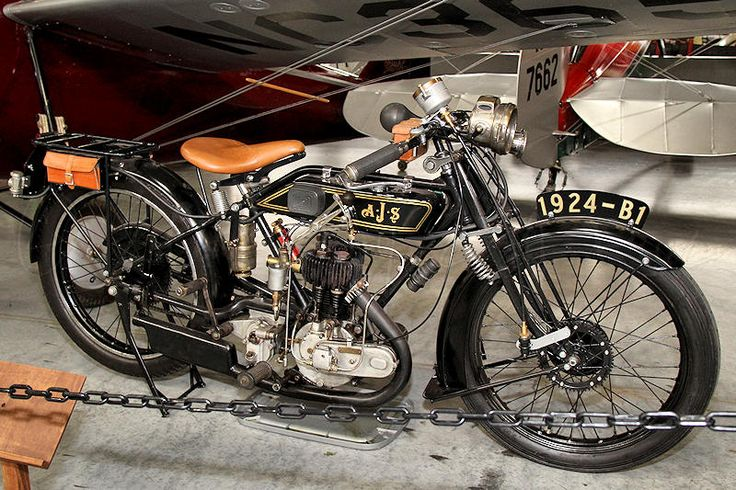 1924 AJS Motorcycle - One Beautiful Machine!