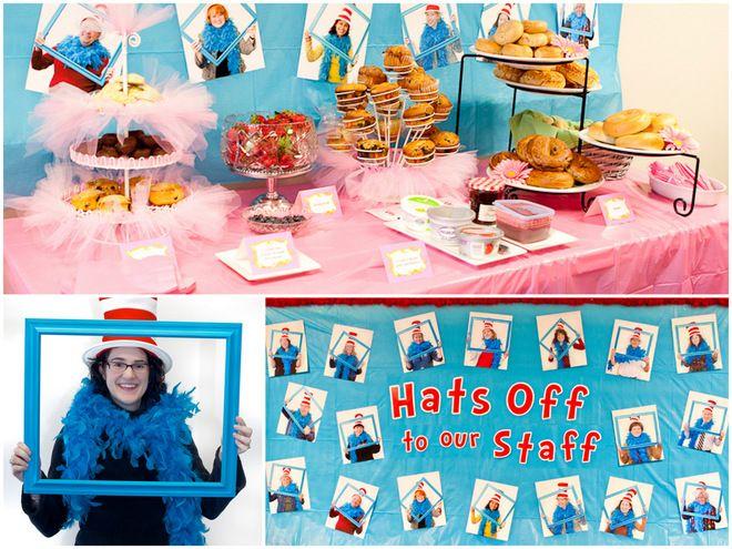 An amazing Dr. Seuss themed week for teaching staff!