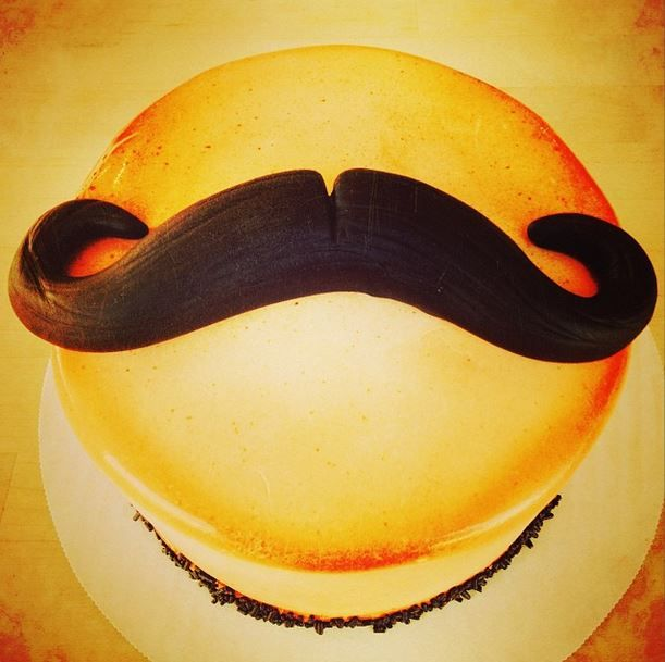 We really mustache you a question — but we'll shave it for later. #DuffsCakemix