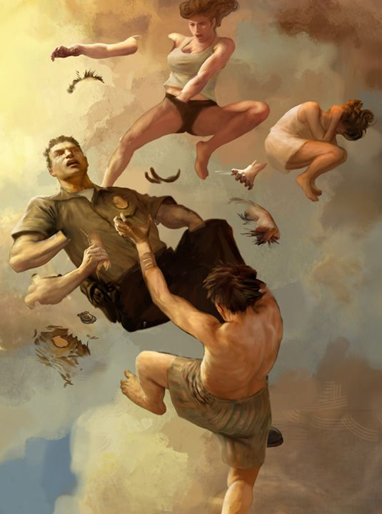 JON FOSTER artwork from HBO's THE LEFTOVERS