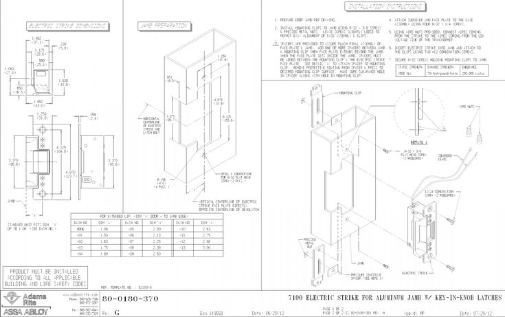 Adams Rite 7400 Wiring Diagram from i.pinimg.com