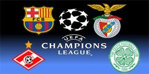 O sorteio de hoje da Liga dos Campeões ditou o grupo G ao Benfica onde irá defrontar o Barcelona, Spartak Moscovo e Celtic.