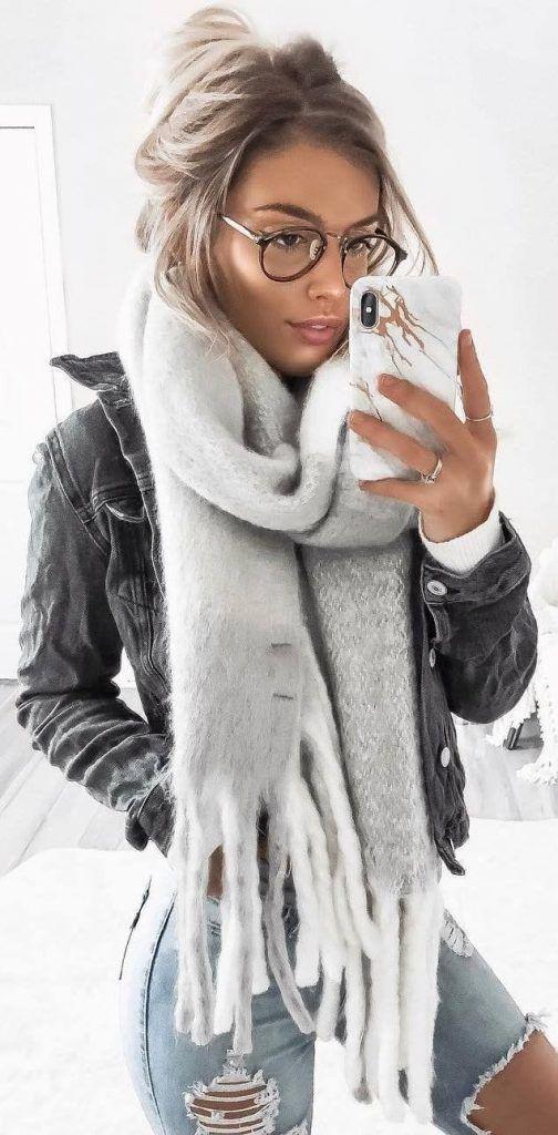 45 Niedliche Winter-Outfits Perfekt für dich / 07 #Winter #Outfits #jewelryacce…