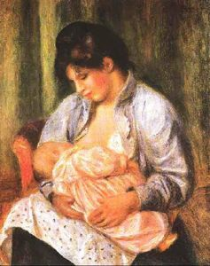 Mother and Child - (Pierre-Auguste Renoir)